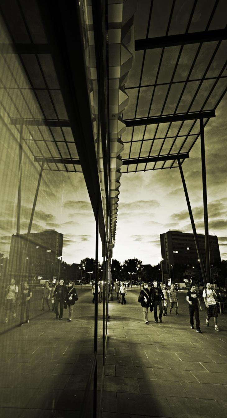 Centrum Galerie outside