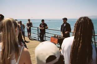Santa Monica Pier | Leica MP | Kodak Portra 160